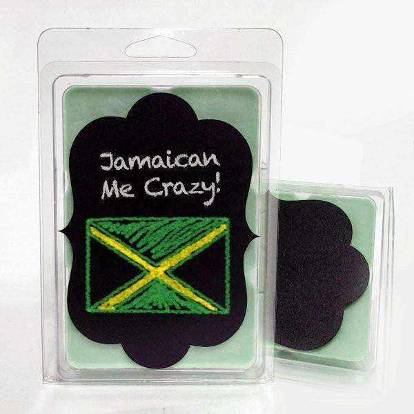 Jamaican Me Crazy Chalkboard Tart-Tarts-The Official Website of Jewelry Candles - Find Jewelry In Candles!