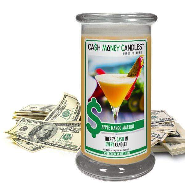 Apple Mango Martini Cash Money Candles-Cash Money Candles-The Official Website of Jewelry Candles - Find Jewelry In Candles!