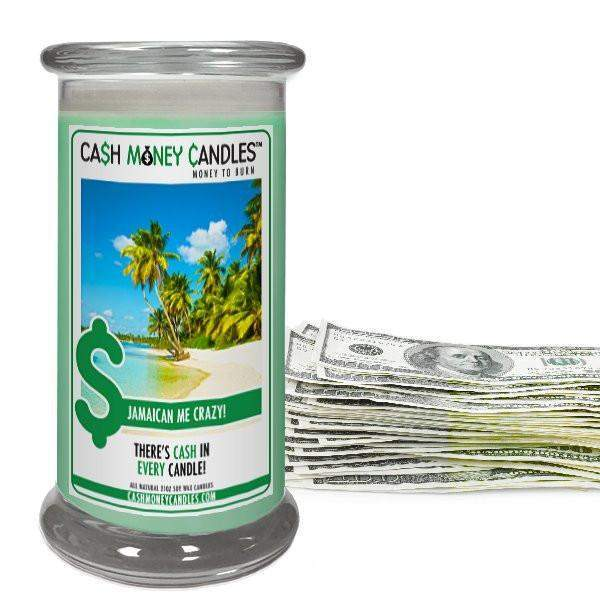 Jamaican Me Crazy! Cash Money Candles-Cash Money Candles-The Official Website of Jewelry Candles - Find Jewelry In Candles!