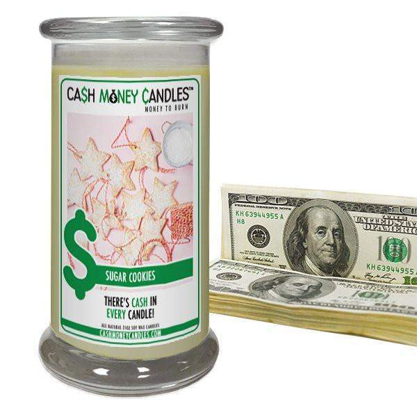 Sugar Cookies Cash Money Candles-Cash Money Candles-The Official Website of Jewelry Candles - Find Jewelry In Candles!