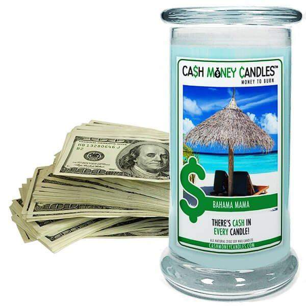 Bahama Mama Cash Money Candles-Cash Money Candles-The Official Website of Jewelry Candles - Find Jewelry In Candles!