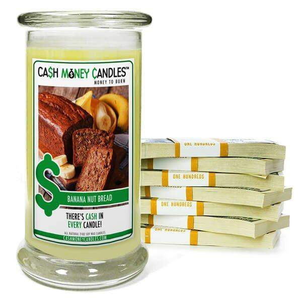Banana Nut Bread | Cash Money Candle®-Cash Money Candles-The Official Website of Jewelry Candles - Find Jewelry In Candles!