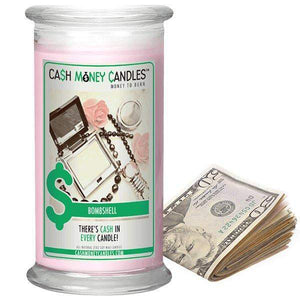 Bombshell | Cash Money Candle®-Cash Money Candles-The Official Website of Jewelry Candles - Find Jewelry In Candles!