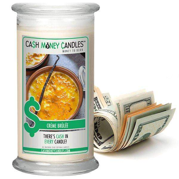 Crème Brûlée Cash Money Candles-Cash Money Candles-The Official Website of Jewelry Candles - Find Jewelry In Candles!