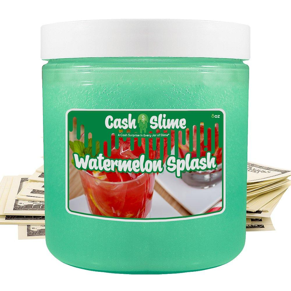 Watermelon Splash | Cash Slime®-Cash Slime | A Cash Surprise In Every Jar of Slime-The Official Website of Jewelry Candles - Find Jewelry In Candles!