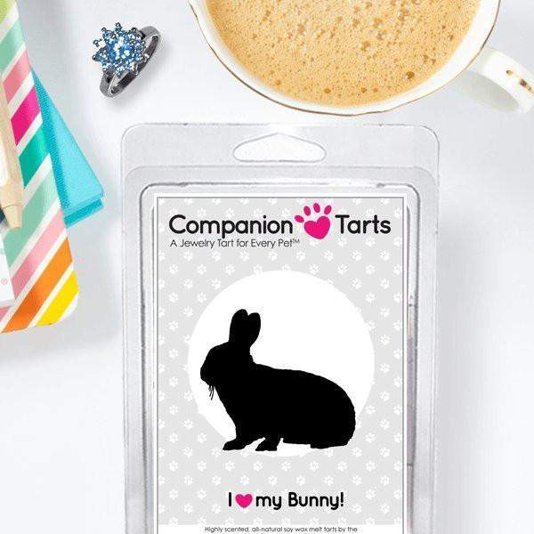 I Love My Bunny! - Companion Tarts-Companion Tarts-The Official Website of Jewelry Candles - Find Jewelry In Candles!