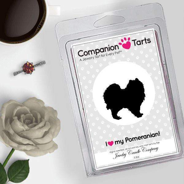 I Love My Pomeranian! - Companion Tarts-Companion Tarts-The Official Website of Jewelry Candles - Find Jewelry In Candles!