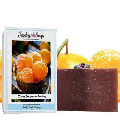 Citrus Bergamot Fantasy | Jewelry Soap-Jewelry Soaps-The Official Website of Jewelry Candles - Find Jewelry In Candles!
