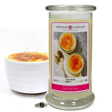 Crème Brûlée | Jewelry Candle®-Creme Brulee-The Official Website of Jewelry Candles - Find Jewelry In Candles!