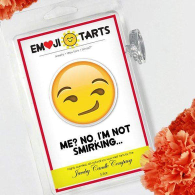 Me? No, I'M Not Smirking Emoji Tarts-Tarts-The Official Website of Jewelry Candles - Find Jewelry In Candles!