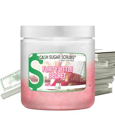 Flirty Little Secret | Cash Sugar Scrub®-The Official Website of Jewelry Candles - Find Jewelry In Candles!