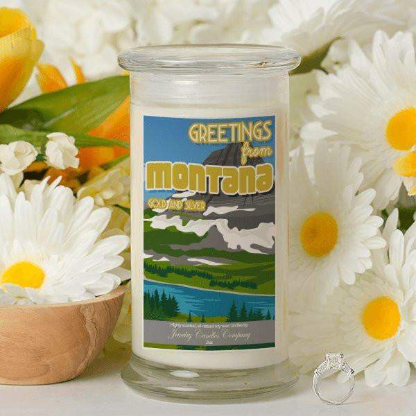 Greetings From Montana - Greetings From Candles-Greetings From Candles-The Official Website of Jewelry Candles - Find Jewelry In Candles!