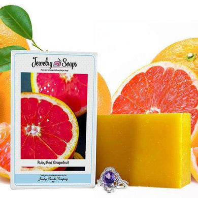 Ruby Red Grapefruit | Jewelry Soap-Jewelry Soaps-The Official Website of Jewelry Candles - Find Jewelry In Candles!