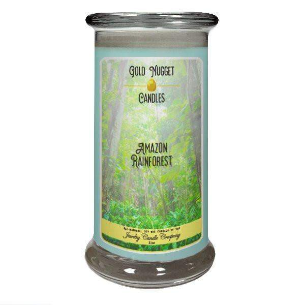 Amazon Rainforest Gold Nugget Candle-Gold Nugget Candles-The Official Website of Jewelry Candles - Find Jewelry In Candles!