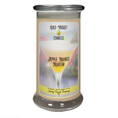 Apple Mango Martini Gold Nugget Candle-Gold Nugget Candles-The Official Website of Jewelry Candles - Find Jewelry In Candles!