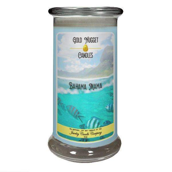 Bahama Mama Gold Nugget Candle-Gold Nugget Candles-The Official Website of Jewelry Candles - Find Jewelry In Candles!