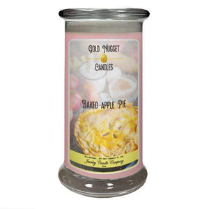 Baked Apple Pie Gold Nugget Candle-Gold Nugget Candles-The Official Website of Jewelry Candles - Find Jewelry In Candles!