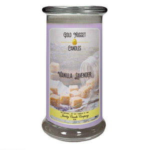 Vanilla Lavender Gold Nugget Candle-Gold Nugget Candles-The Official Website of Jewelry Candles - Find Jewelry In Candles!