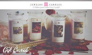 $100 Gift Card-Gift Card-The Official Website of Jewelry Candles - Find Jewelry In Candles!