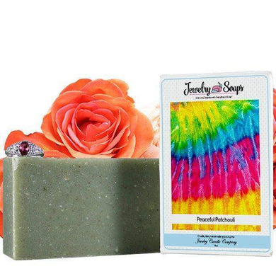 Peaceful Patchouli | Jewelry Soap-Jewelry Soaps-The Official Website of Jewelry Candles - Find Jewelry In Candles!