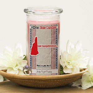 Home State Demonyms Jewelry Candles - New Hampshireman-Home State Demonyms Jewelry Candles-The Official Website of Jewelry Candles - Find Jewelry In Candles!
