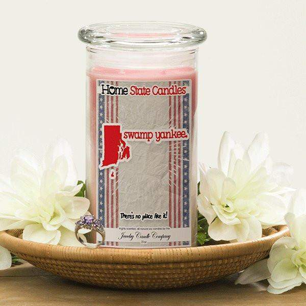 Home State Demonyms Jewelry Candles - Swamp Yankee-Home State Demonyms Jewelry Candles-The Official Website of Jewelry Candles - Find Jewelry In Candles!