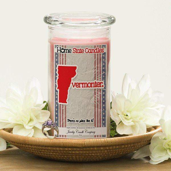 Home State Demonyms Jewelry Candles - Vermonter-Home State Demonyms Jewelry Candles-The Official Website of Jewelry Candles - Find Jewelry In Candles!