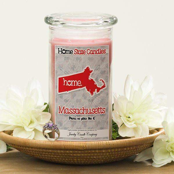 Home State Candles - Massachusetts-The Official Website of Jewelry Candles - Find Jewelry In Candles!