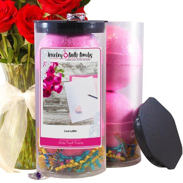 Love Letter Cash Bath Bombs-Cash Bath Bombs-The Official Website of Jewelry Candles - Find Jewelry In Candles!
