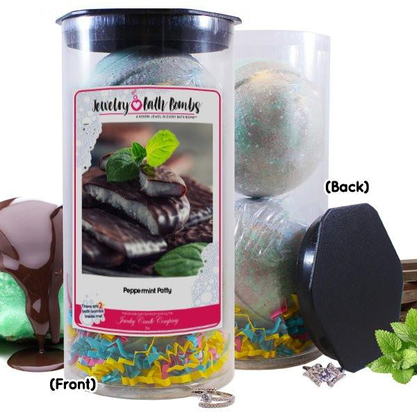 Peppermint Patty Cash Bath Bombs-Cash Bath Bombs-The Official Website of Jewelry Candles - Find Jewelry In Candles!