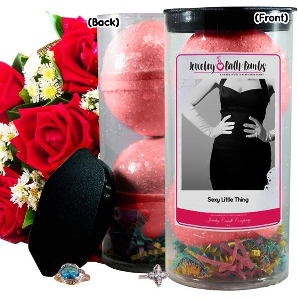 Sexy Little Thing Jewelry Bath Bombs-Jewelry Bath Bombs-The Official Website of Jewelry Candles - Find Jewelry In Candles!