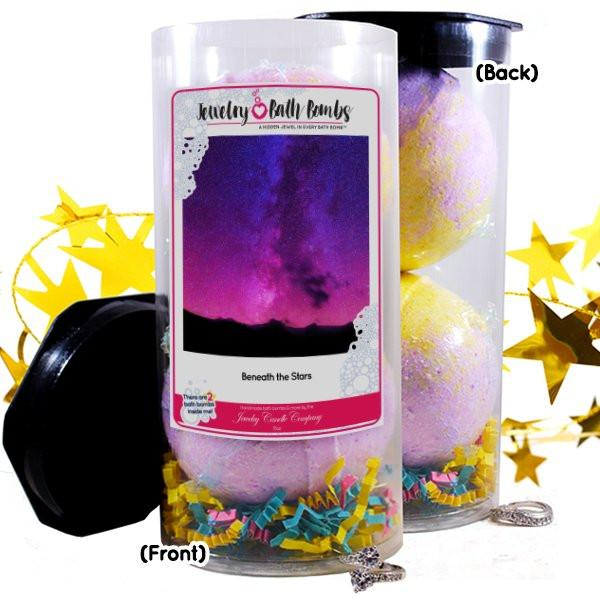 Beneath the Stars Jewelry Bath Bombs-Jewelry Bath Bombs-The Official Website of Jewelry Candles - Find Jewelry In Candles!