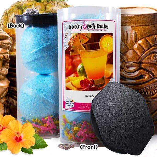 Tiki Party Jewelry Bath Bombs-Jewelry Bath Bombs-The Official Website of Jewelry Candles - Find Jewelry In Candles!