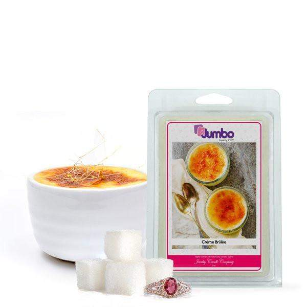 Crème Brûlée Jumbo Jewelry Tarts-Tarts-The Official Website of Jewelry Candles - Find Jewelry In Candles!
