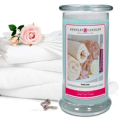Fresh Linen | Jewelry Candle®-Fresh Linen-The Official Website of Jewelry Candles - Find Jewelry In Candles!