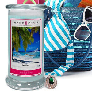 Beach Bum | Jewelry Candle®-Beach Bum Jewelry Candles-The Official Website of Jewelry Candles - Find Jewelry In Candles!