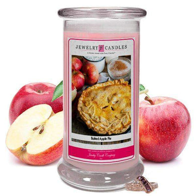 Baked Apple Pie | Jewelry Candle®-Baked Scents-The Official Website of Jewelry Candles - Find Jewelry In Candles!