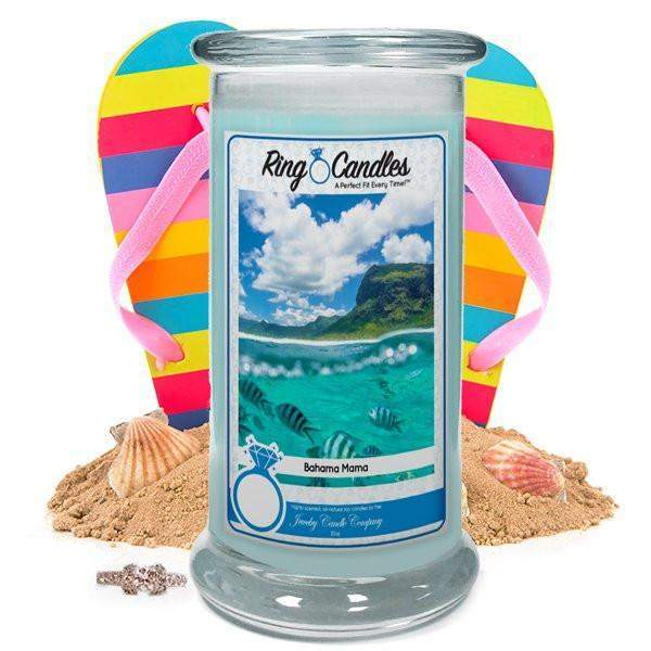 Bahama Mama Ring Candle-Bahama Mama-The Official Website of Jewelry Candles - Find Jewelry In Candles!