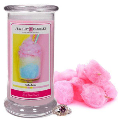 Cotton Candy | Jewelry Candle®-Cotton Candy Jewelry Candles-The Official Website of Jewelry Candles - Find Jewelry In Candles!