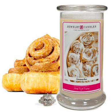 Cinnamon Bun | Jewelry Candle®-Cinnamon Bun-The Official Website of Jewelry Candles - Find Jewelry In Candles!