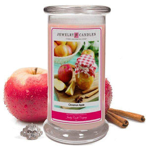 Cinnamon Apple | Jewelry Candle®-Cinnamon Apple-The Official Website of Jewelry Candles - Find Jewelry In Candles!