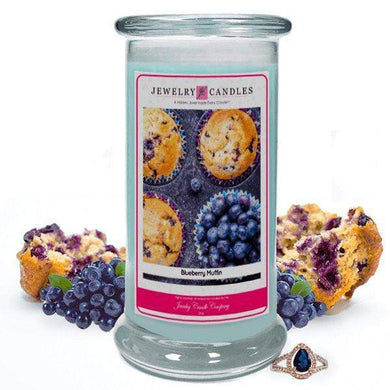 Blueberry Muffin | Jewelry Candle®-Blueberry Muffin-The Official Website of Jewelry Candles - Find Jewelry In Candles!