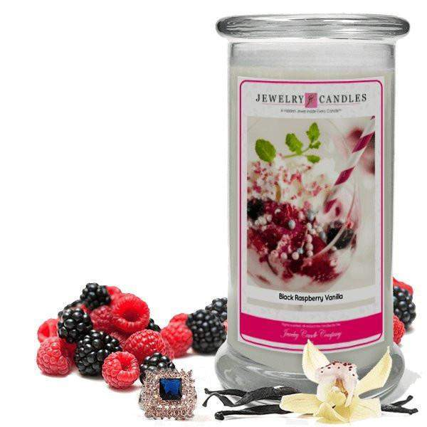 Black Raspberry Vanilla Jewelry Candle-Black Raspberry Vanilla-The Official Website of Jewelry Candles - Find Jewelry In Candles!