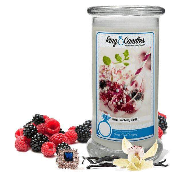 Black Raspberry Vanilla Ring Candle-Black Raspberry Vanilla Ring Candle-The Official Website of Jewelry Candles - Find Jewelry In Candles!