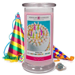 Birthday Cake | Jewelry Candle®-Birthday Cake-The Official Website of Jewelry Candles - Find Jewelry In Candles!