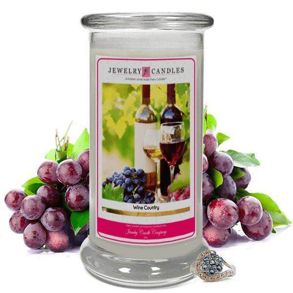 Wine Country Jewelry Candle-Wine Country Jewelry Candles-The Official Website of Jewelry Candles - Find Jewelry In Candles!