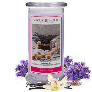 Vanilla Lavender | Jewelry Candle®-Vanilla Lavender Jewelry Candles-The Official Website of Jewelry Candles - Find Jewelry In Candles!
