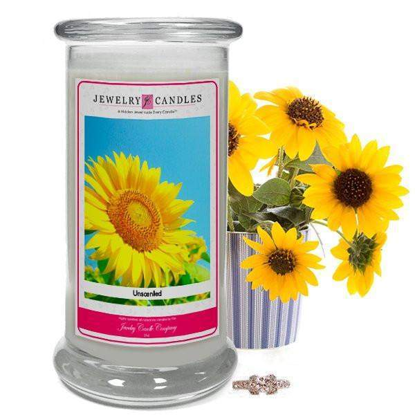Unscented Jewelry Candle-Unscented Jewelry Candles-The Official Website of Jewelry Candles - Find Jewelry In Candles!