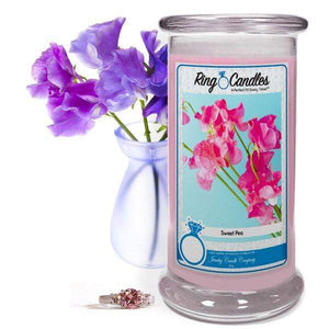 Sweet Pea | Ring Candle®-Sweet Pea Jewelry Candles-The Official Website of Jewelry Candles - Find Jewelry In Candles!