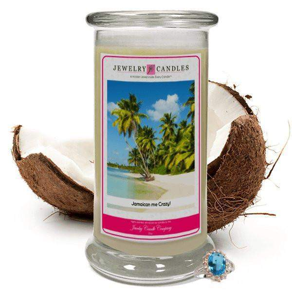 Jamaican Me Crazy! Jewelry Candle-Jamaican Me Crazy!-The Official Website of Jewelry Candles - Find Jewelry In Candles!
